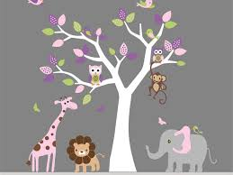 Stickers For Kids Room Decor 8 African Wild Life Kids Room Wall Sticker Glamour Of Wall