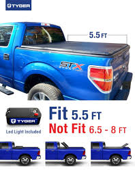 Ford Raptor Truck Bed Size - amazon com tyger auto tg bc3f1019 tri fold truck bed tonneau