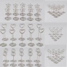 Vintage Table Number Holders Wedding Table Number Holders Ebay
