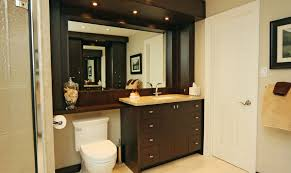 large bathroom mirror with shelf the toilet storage and design options for small bathrooms