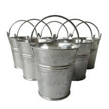 Metal Wall Planter by Online Get Cheap Galvanized Metal Buckets Aliexpress Com