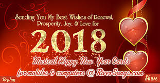 new year cards 2018 happy new year ecards wishes riversongs