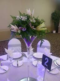Martini Glass Centerpieces 215 Best Glass Flower Arrangements Images On Pinterest Flower