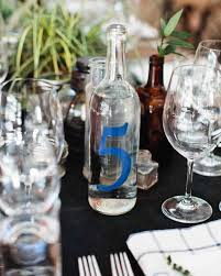 drink table wedding table number ideas that scored at real celebrations