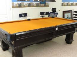 3 in one pool table regulation pool table orangish gold felt 1 inch slate 3 piece