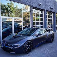 Bmw I8 Blacked Out - bmw i8 with hre wheels p101s madwhips
