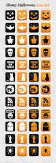 Happy Halloween Icons Glossy Halloween Icon Set By Jackrugile Graphicriver