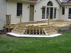 Corner Deck Stairs Design Corner Deck Stairs Up Of Corner Stringer Photo