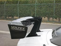 voltex type 7 gt wing swan neck evasive motorsports