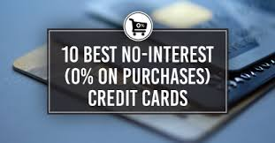 10 best no interest 0 on purchases credit cards cardrates