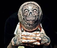 3d skull design