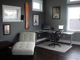 wonderful gray paint color for home office home office with couch