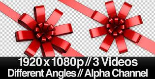 big present bow big bow across the screen series of 3 alpha by butlerm