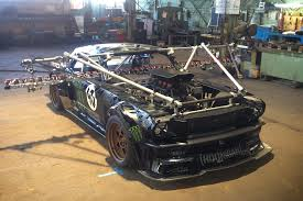 hoonigan mustang hoonigan u0027s head rodder lets us see the photos on his iphone