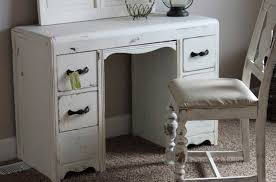 shabby chic desk chair with white paint color ideas home