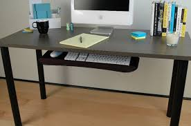 Office Desk With Keyboard Tray Beachcrest Home Vassar Writing Desk With Keyboard Tray U0026 Reviews