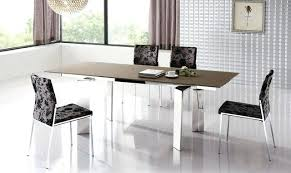 extendable kitchen table and chairs contemporary dining tables extendable stunning modern contemporary