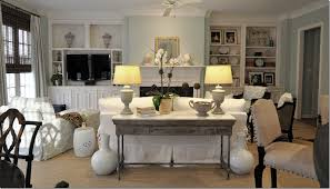 Bookshelf Around Fireplace Apartments Awesome Living Room Design With White Sectional Sofa