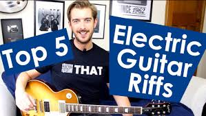 5 easy electric guitar riffs for beginners easy riffs lesson 2
