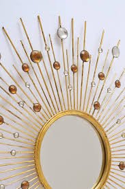 Gold Home Decor Accessories Decorating How To Make A Gold Sunburst Mirror For Wall