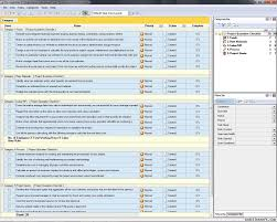 Project Management Spreadsheets Software Project Management Cost Estimation Template And Effort