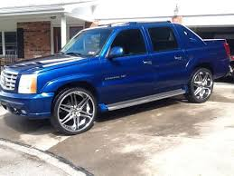 cadillac escalade truck for sale used buy used 2003 cadillac escalade ext 26inch dub wheels factory