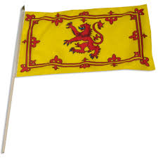 Scottish Pirate Flag Scotland Royal Lion Rampant Banner 12in X 18in Flag
