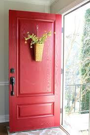 front doors painting metal front door red painting your front