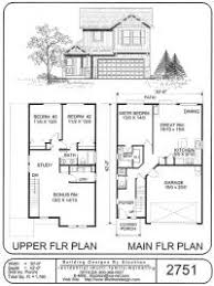 two story house plan small house plans and floor plans