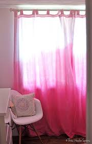 Purple Ombre Curtains How To Dip Dye Curtains Three Wooden Spoons
