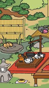 13 best neko atsume wallpapers images on pinterest calico cats