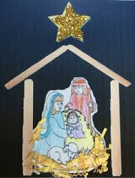 nativity craft with popsicle sticks lessons for little ones by