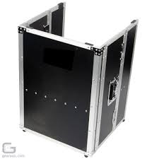 Dj Table Stand Road Ready Rrdjstand Dj Coffin Flight Case Fold Out Table Stand