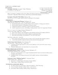 Education Section Of Resume Example Relevant Coursework In Resume Example