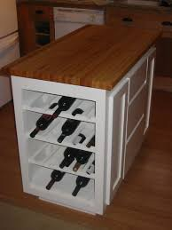 kitchen island wine rack the end of your kitchen island or breakfast bar are the two best