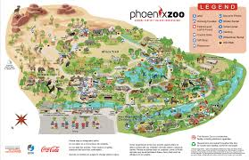 phx map zoo map zoo