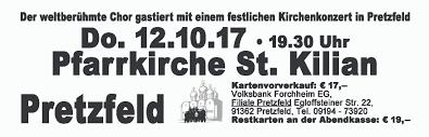 Bad Bergzabern Plz 91362 Pretzfeld Don Kosaken Chor Wanja Hlibka