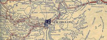 map louisiana highways interstates ost louisiana new orleans to