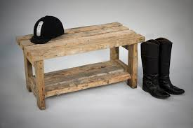 Rustic Wooden Bench Furniture Small Rustic Wood Entryway Bench With Storage Nice
