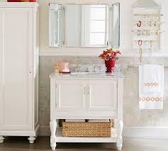 Tri Fold Bathroom Mirror by Vintage Tri Fold Mirror Pottery Barn