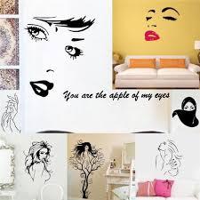 femme nue au bureau nue filles stickers muraux salle de bureau décoration 8465