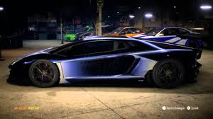 future lamborghini need for speed 2015 lamborghini aventador future design tuning ps4