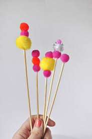 cake toppers birthday pom pom birthday cake topper delineate your dwelling