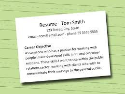 Job Objective For Resume Examples by Write Resume Objective Resume Cv Cover Letter Professional