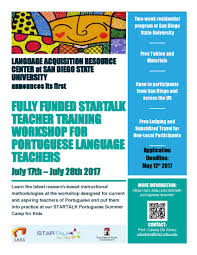 San Diego State University Map by Welcome To The Startalk Portuguese Teacher Training Program At San
