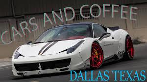 koenigsegg dallas crazy cool cars and coffee dallas texas ferrari f12tdf