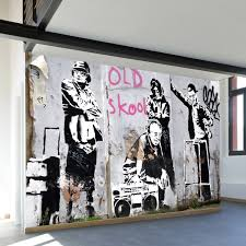 literal old wall mural decal 100