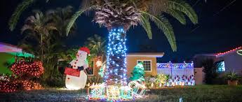 christmas lights on the space coast