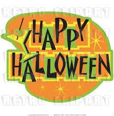 retro halloween clip art 64
