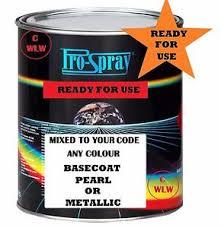 spray paint code car 1l mixed ford fiesta focus mondeo galaxy